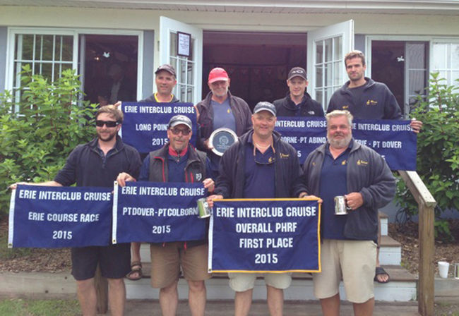 Dover entry sails away with Lake Erie Interclub Cruise victory